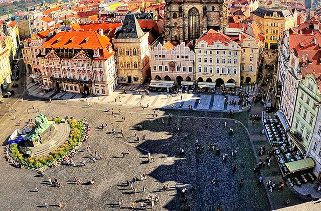 Prága óváros tér