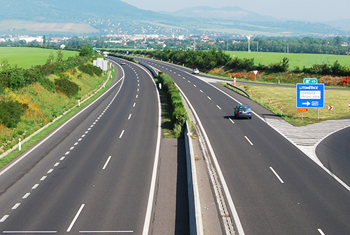 cseh autópálya