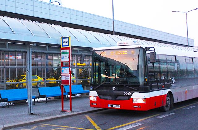 prága reptéri busz
