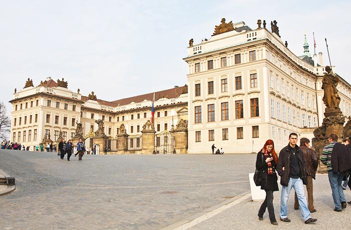 Hradzsin Prága