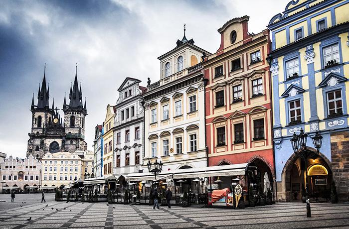 Prága óvárosa