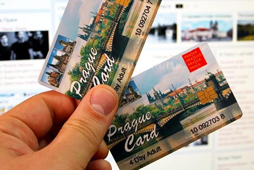 Prága városkártya