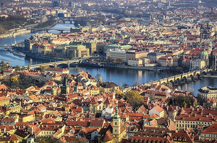 Prága városrészei